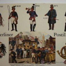 Postales: 28 CARTERO CORREOS POSTAL ALEMANIA - MAS EN MI TIENDA. Lote 31557978
