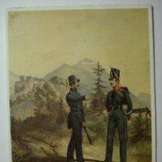 Postales: 37 UNIFORME MILITA MILITARIA LIECHTENSTEIN AÑOS 1840 - MAS EN MI TIENDA. Lote 31558245