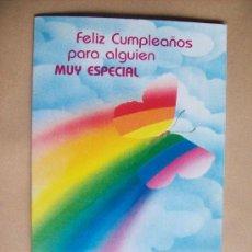 Postales: FELIZ CUMPLEAÑOS, HAPPY BIRTHDAY, JOYEUX ANNIVERSAIRE AMERICAN GREETINGS ARGENTINA 1989. Lote 32435200