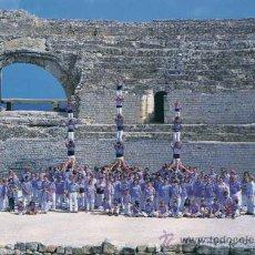 Postais: CASTELLS - COLLA JOVE XIQUETS DE TARRAGONA - POSTAL Nº 10 FESTES SANTA TECLA TARRAGONA, 1999. Lote 32986175