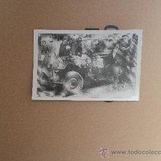 Postales: JO CLÉMENT Y SU ESPOSA - VUELTA AL MUNDO EN SU COCHE.. Lote 33665543