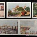 Postales: LOTE 5 POSTALES DE LA EXPOSICIÓN INTERNACIONAL DE BARCELONA, 1929. EXCELENTE ESTADO. Lote 34371331
