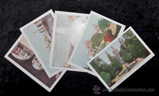 Postales: LOTE 5 POSTALES DE LA EXPOSICIÓN INTERNACIONAL DE BARCELONA, 1929. EXCELENTE ESTADO - Foto 2 - 34371331