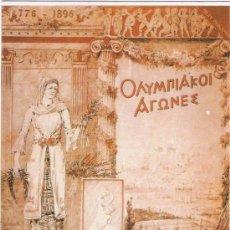 Postales: JUEGOS OLYMPICOS - ATENAS 1896 - VENCA. Lote 35557690