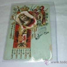 Postales: COLECCION REYES DE ESPAÑA. S. CALLEJA. MADRID. 1902. Nº 31. GUNDEMARO. Lote 35513091