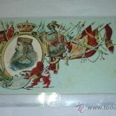 Postales: COLECCION REYES DE ESPAÑA. S. CALLEJA. MADRID. 1902. Nº 84. RECAREDO. Lote 35513108