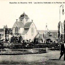 Postales: 24 POSTALES BRUSELAS. EXPOSITION DE BRUXELLES 1910. GRANDS MAGASINS DE LA BOURSE EDITEURS.. Lote 36002580