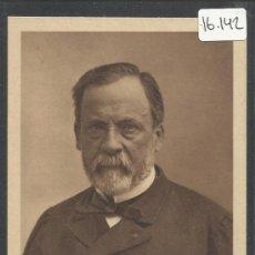 Postales: PASTEUR - L.PASTEUR 1822 - 1895 - PHOTO M.P.NADAR - (16.142). Lote 37556213