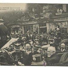 Postales: VISITA DE ALFONSO XIII A PARIS.-EDICION C.L.C.. Lote 38522900