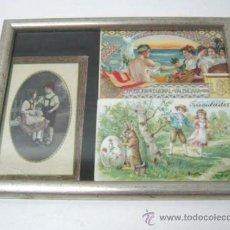 Postales: 3 POSTALES ORIGINALES ANTIGUAS - EXPOSICION REGIONAL VALENCIA 1909. Lote 38850906