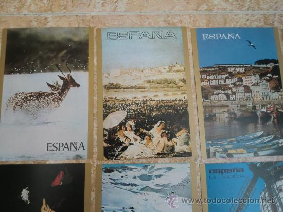 Postales: Paquete de 15 postales de ESPAÑA de TELEVISION ESPAÑOLA TVE (1971) ¡Nuevas! - Foto 2 - 38979735