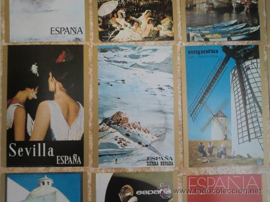 Postales: Paquete de 15 postales de ESPAÑA de TELEVISION ESPAÑOLA TVE (1971) ¡Nuevas! - Foto 3 - 38979735