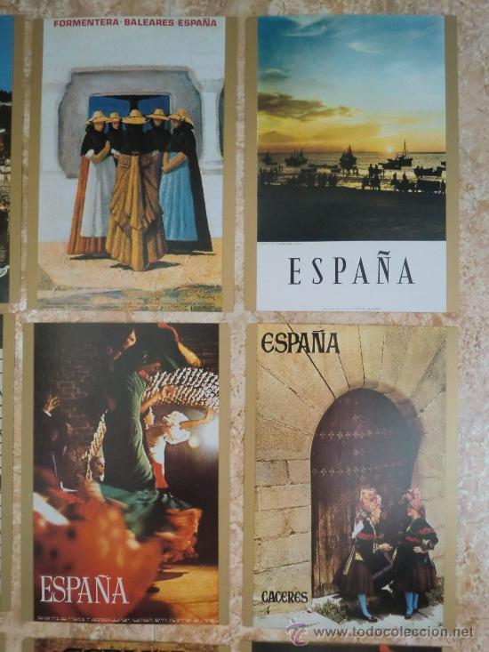 Postales: Paquete de 15 postales de ESPAÑA de TELEVISION ESPAÑOLA TVE (1971) ¡Nuevas! - Foto 5 - 38979735