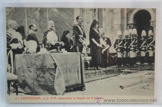 Resultado de imagen de alfonso XIII COVADONGA