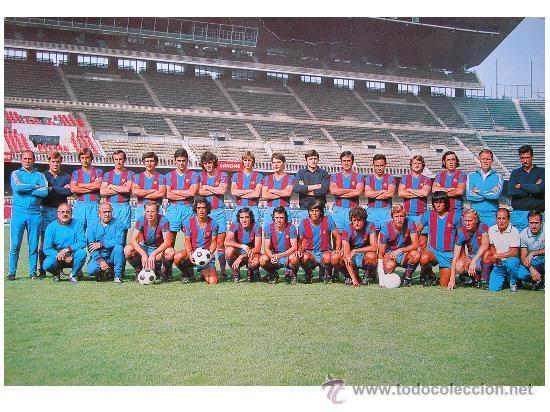 BARÇA - PLANTILLA BARCELONA CF 1973-74 - 75º ANIVERSARIO - CRUYFF - (Postales - Postales Temáticas - Conmemorativas)