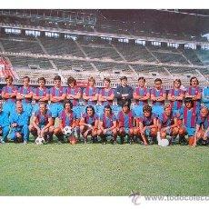 Postales: BARÇA - PLANTILLA BARCELONA CF 1973-74 - 75º ANIVERSARIO - CRUYFF - . Lote 39650657