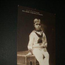 Postales: S. A. R. EL PRINCIPE DON JAIME LEOPOLDO DE ESPAÑA POSTAL MONARQUICA 1915. Lote 39890803