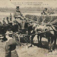 Postales: POSTAL VISITA DE ALFONSO XIII A PARIS EN 1905. Lote 40413417