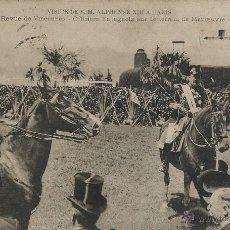 Postales: POSTAL VISITA DE ALFONSO XIII A PARIS EN 1905. Lote 40413429