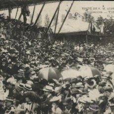 Postales: POSTAL VISITA DE ALFONSO XIII A PARIS EN 1905. Lote 40413445