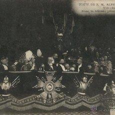 Postales: POSTAL VISITA DE ALFONSO XIII A PARIS EN 1905. Lote 40413458