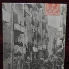 Postales: ANTIGUA POSTAL DE PRINCIPIOS DEL SIGLO XX. VISTA DE PROCESSION. CIRCULADA. Lote 41038698