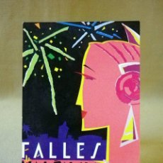 Postales: TARJETA POSTAL, POSTAL CONMEMORATIVA, FALLAS, 1989, VALENCIA, ORTEGA. Lote 41106411