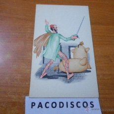 Postales: POSTAL SIN CURSAR DON QUIJOTE DE LA MANCHA MIGUEL DE CERVANTES SAAVEDRA LANGA Y COMPAÑIA MADRID M4. Lote 41526695