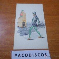 Postales: POSTAL SIN CURSAR DON QUIJOTE DE LA MANCHA MIGUEL DE CERVANTES SAAVEDRA LANGA Y COMPAÑIA MADRID M6. Lote 41526944