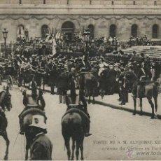 Postales: POSTAL VISITA DE ALFONSO XIII A PARIS EN 1905. Lote 40413407