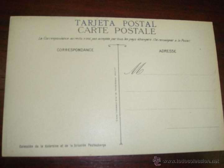 "Postales: RARA Y ANTIGUA TARJETA POSTAL EN COLOR JEUX OLYMPIQUES. PARIS 1924. ""LUTTE"" - Foto 2 - 41797382"