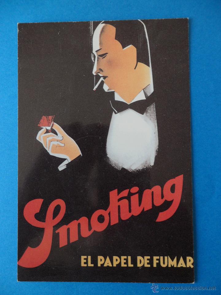 SPONSOR UMBRIA JAZZ ´98 / SMOKING PAPEL DE FUMAR ---- ITALIA (Postales - Postales Temáticas - Conmemorativas)