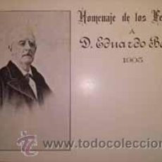 Postales: TARJETA POSTAL HOMENAJE DE LOS FEDERALES A EDUARDO BENOT 1905. Lote 43029537
