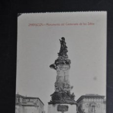 Postales: ANTIGUA POSTAL DE ZARAGOZA. MONUMENTO DEL CENTENARIO DE LOS SITIOS. SIN CIRCULAR. Lote 43672236