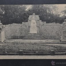 Postales: ANTIGUA POSTAL DE SAN SEBASTIAN. MONUMENTO A SU MAJESTAD LA REINA MARIA CRISTINA. SIN CIRCULAR. Lote 43726323