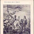 Postales: POSTAL QUIJOTE Nº 21 - PUBLICADA POR LA NUEVA HISTORIA...-SIN CIRCULAR - SERIE C - PRINCIPIOS S. XX. Lote 44910550