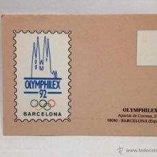 Postales: POSTAL BARCELONA 92. Lote 46046279