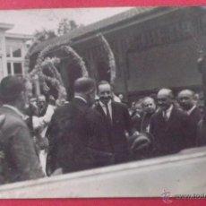 Postales: POSTAL FOTOGRÁFICA DE ALFONSO XIII POSIBLEMENTE EN ALGUNA INAUGURACIÓN. VER REVERSO.. Lote 46171844