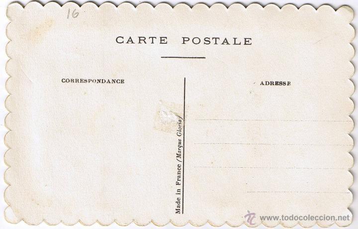 Postales: POSTAL BORDADA - MOLTES FELICITATS - CATALAN - FOTO ADICIONAL - Foto 2 - 47280968