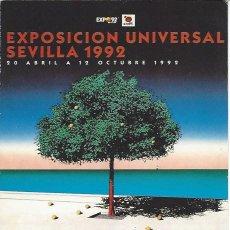 Postales: COLECCIÓN EXPO'92 - POSTAL Nº 84 MUY DIFICIL. Lote 47428591