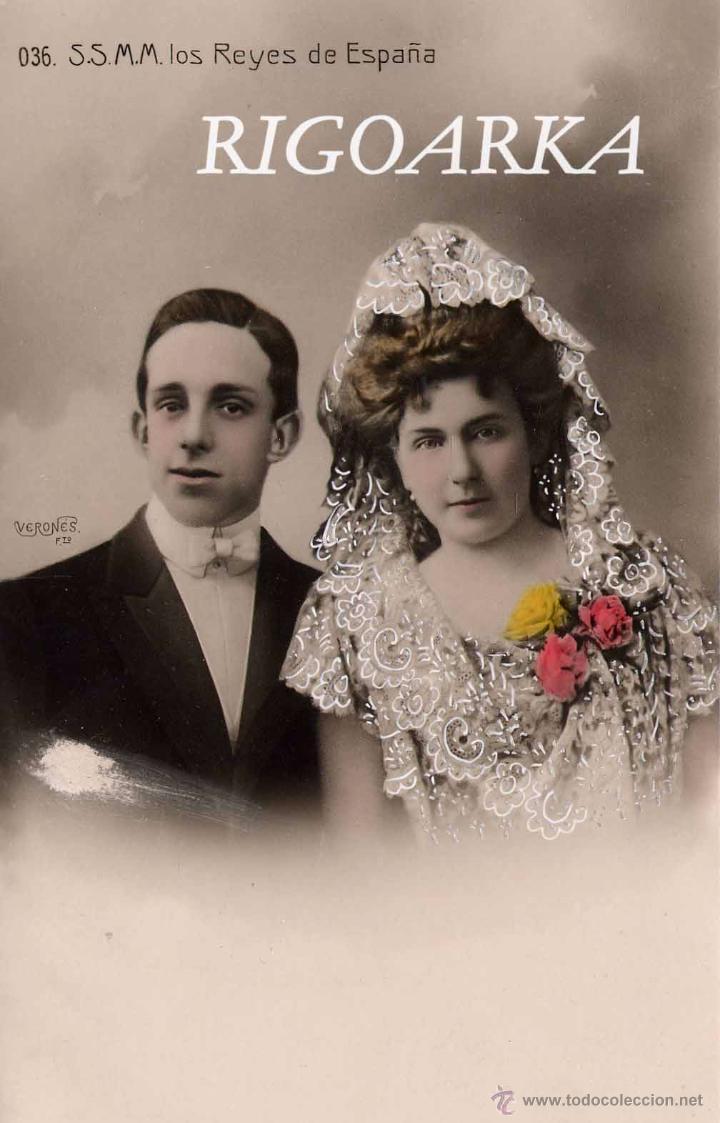 S.S.M.M. LOS REYES DE ESPAÑA (Postales - Postales Temáticas - Conmemorativas)