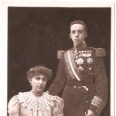 Postales: KING & QUEEN OF SPAIN & INFANT. Lote 27567517