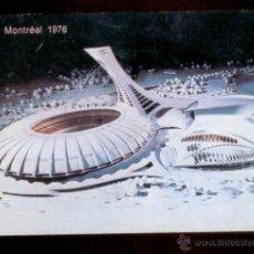 Postales: MONTREAL 1976: MAQUETTE DU PARC OLYMPIQUE. CIRCULADA EN 1977.. Lote 51151435