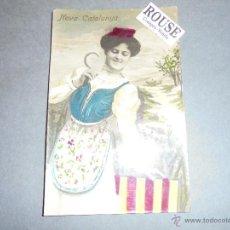 Postales: POSTAL - FOTOGRAFICA - NOVA CATALUNYA . ILUMINADA CON ANILINAS CIRCULADA 1907 - 14X9 CM. . Lote 51933030