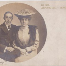 Postales: P- 4286. POSTAL SS. MM. ALFONSO XIII Y VICTORIA EUGENIA.. Lote 54671342