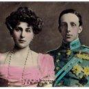 Postales: PS5959 S.A.R. LA PRINCESA VICTORIA Y S.M. EL REY ALFONSO XIII. FOTOGRÁFICA. SIN CIRCULAR. Lote 51640113