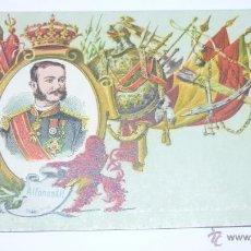 Postales: COL. REYES DE ESPAÑA. CALLEJA. MADRID 1902. Nº 3. ALFONSO XII. Lote 54962948