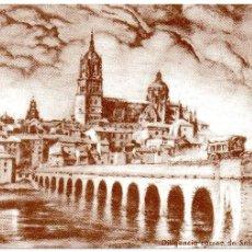 Postales: CENTENARIO DE CORREOS Y TELÉGRAFOS 1889-1989 - DILIGENCIA CORREO DE SALAMANCA 1895. Lote 56154313