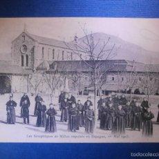 Postales: POSTAL - FRANCIA - LES SÉRAPHIQUES DE MILLAU EXPULSÉS EN ESPAGNE, 1ER MAI 1903 - A VICTOR BAPTISTE -. Lote 56970172