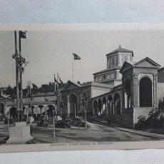 Postales: TARJETA POSTAL-EXPOSICION INTERNACIONAL DE BARCELONA-1929-CON PROPAGANDA EN REVERSO. Lote 58523785